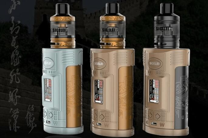 Sigelei GW 257W 20700 Kit review